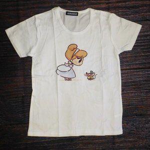 Princess Cinderella Girls Short Sleeve Shirt